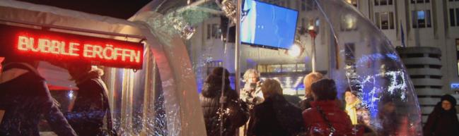 """Die """"Bubble"""" © Pro Quote Regie"""